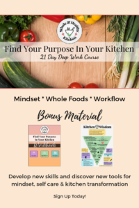 Find Your Purpose in Your Kitchen